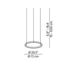 Conpendium daniel rybakken suspension pendant light  luceplan 1d810c070001 1d810 400000  design signed nedgis 79387 thumb