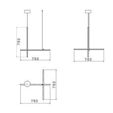 Coordinates suspension 1 cliii michael anastassiades suspension pendant light  flos f1842044  design signed nedgis 99370 thumb