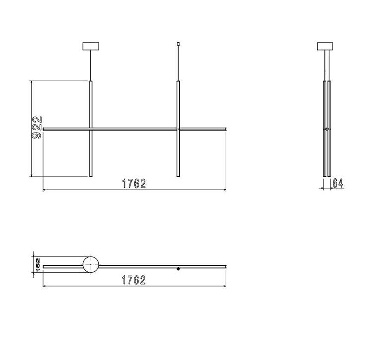 Coordinates suspension 2 michael anastassiades suspension pendant light  flos f1862044  design signed nedgis 99380 product