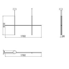 Coordinates suspension 2 michael anastassiades suspension pendant light  flos f1862044  design signed nedgis 99380 thumb