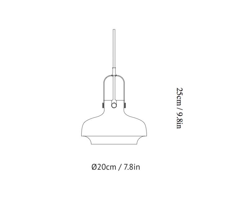 Copenhagen pendant sc6 space copenhagen andtradition 20951130 luminaire lighting design signed 28922 product