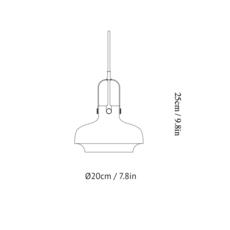 Copenhagen pendant sc6 space copenhagen andtradition 20951130 luminaire lighting design signed 28922 thumb