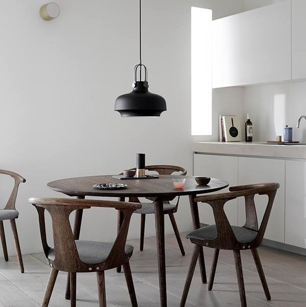 Pendant light, Copenhagen Pendant SC7, matt black, Ø35cm, H40cm -  Andtradition