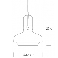 Copenhagen sc6  suspension pendant light  andtradition 20951149  design signed 36591 thumb