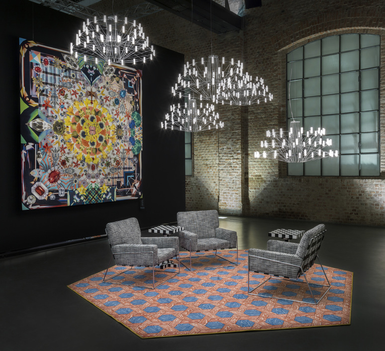Coppelia suspended 10 mtr cable  arihiro miyake suspension pendant light  moooi molcos10 a  design signed 57074 product