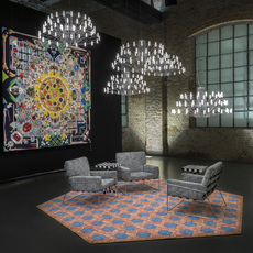 Coppelia suspended 10 mtr cable  arihiro miyake suspension pendant light  moooi molcos10 a  design signed 57074 thumb