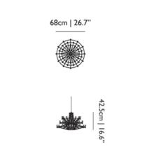 Coppelia small cable 10m  arihiro miyake suspension pendant light  moooi molcos10s a  design signed 57090 thumb