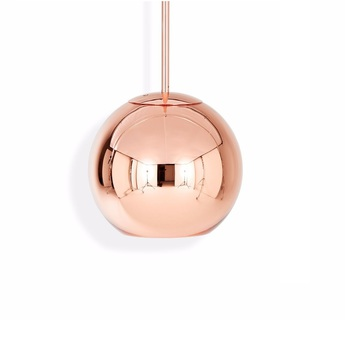 Suspension copper round cuivre o25cm h21cm tom dixon normal