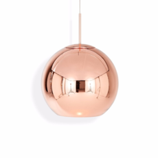 Copper round tom dixon suspension pendant light  tom dixon mss01reu   design signed 34137 thumb