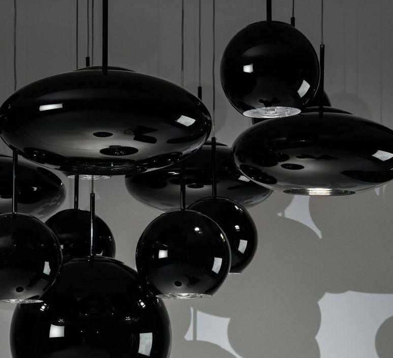 Copper round tom dixon suspension pendant light  tom dixon mss01rbkeu  design signed 48485 product