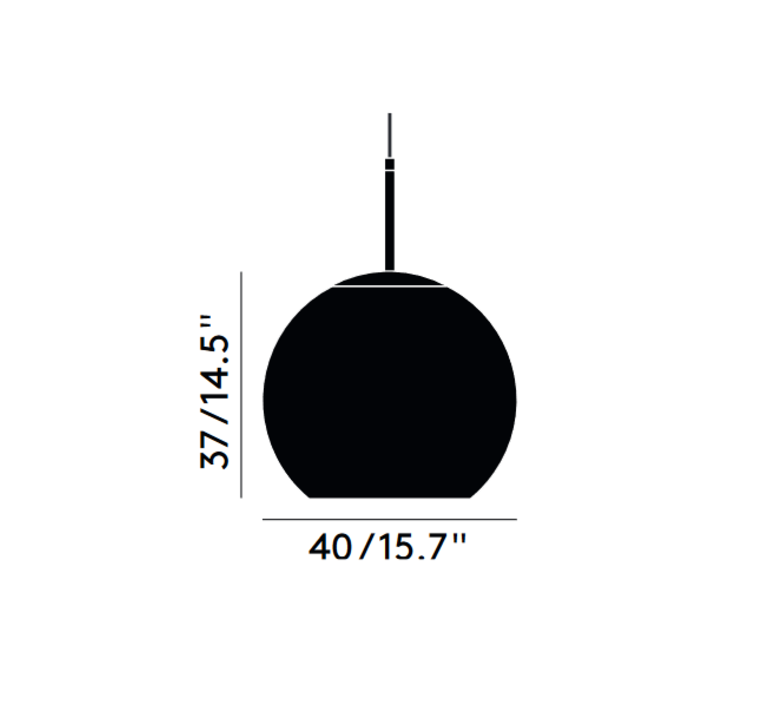 Copper round tom dixon suspension pendant light  tom dixon mss01rbkeu  design signed 48488 product