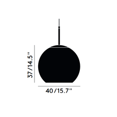 Copper round tom dixon suspension pendant light  tom dixon mss01rbkeu  design signed 48488 thumb