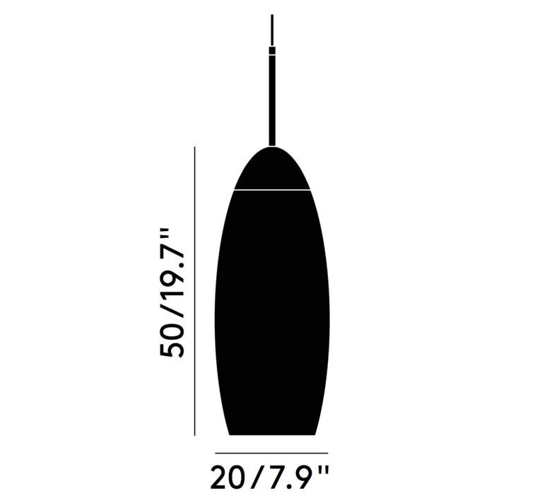 Copper tall tom dixon suspension pendant light  tom dixon mss01teu   design signed 36873 product