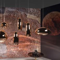 Copper tall tom dixon suspension pendant light  tom dixon mss01teu   design signed 36874 thumb