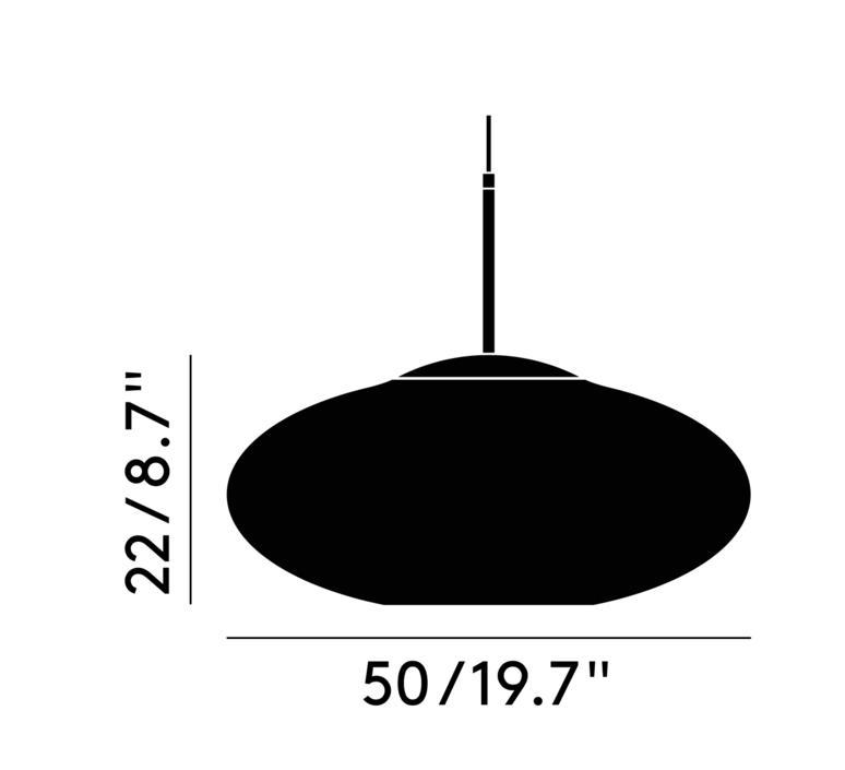 Copper wide tom dixon suspension pendant light  tom dixon mss01weu  design signed 36869 product