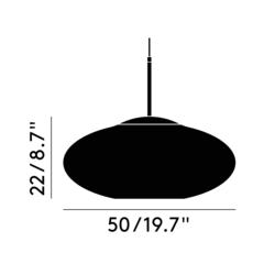 Copper wide tom dixon suspension pendant light  tom dixon mss01weu  design signed 36869 thumb