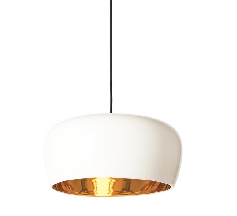 suspension coppola blanc or 27cm formagenda luminaires nedgis. Black Bedroom Furniture Sets. Home Design Ideas