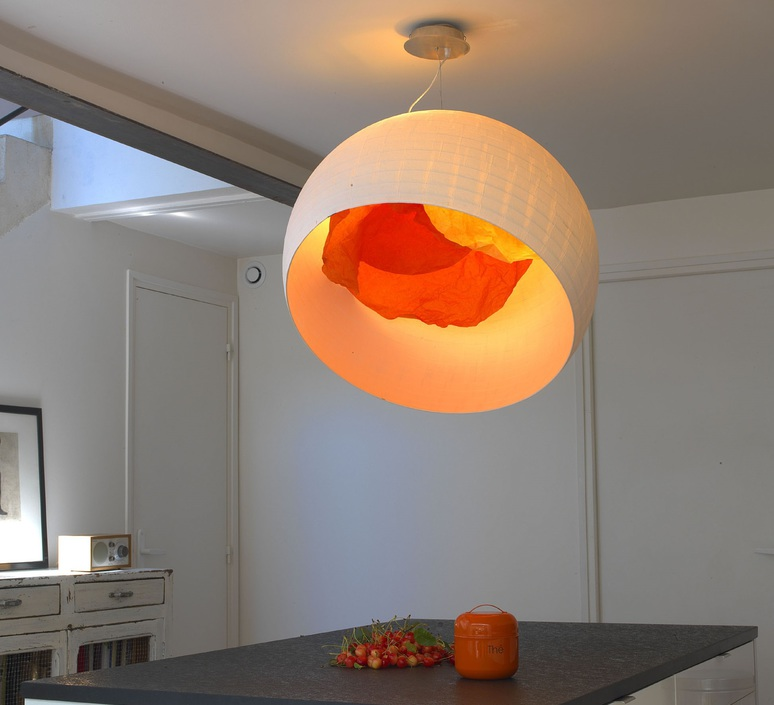 Coquille d oeuf celine wright celine wright coquille d oeuf mandarine luminaire lighting design signed 18324 product