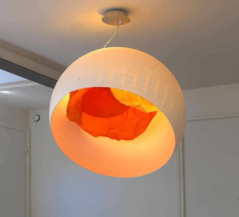 Coquille d oeuf celine wright celine wright coquille d oeuf mandarine luminaire lighting design signed 18326 product