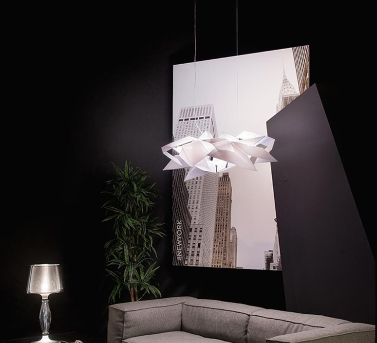 Cordoba studio slamp suspension pendant light  slamp crd95sos0000w 000  design signed nedgis 78315 product