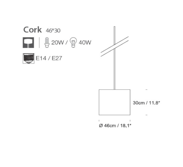 Cork large russell cameron innermost sc059130 05 ec019104 luminaire lighting design signed 12751 product