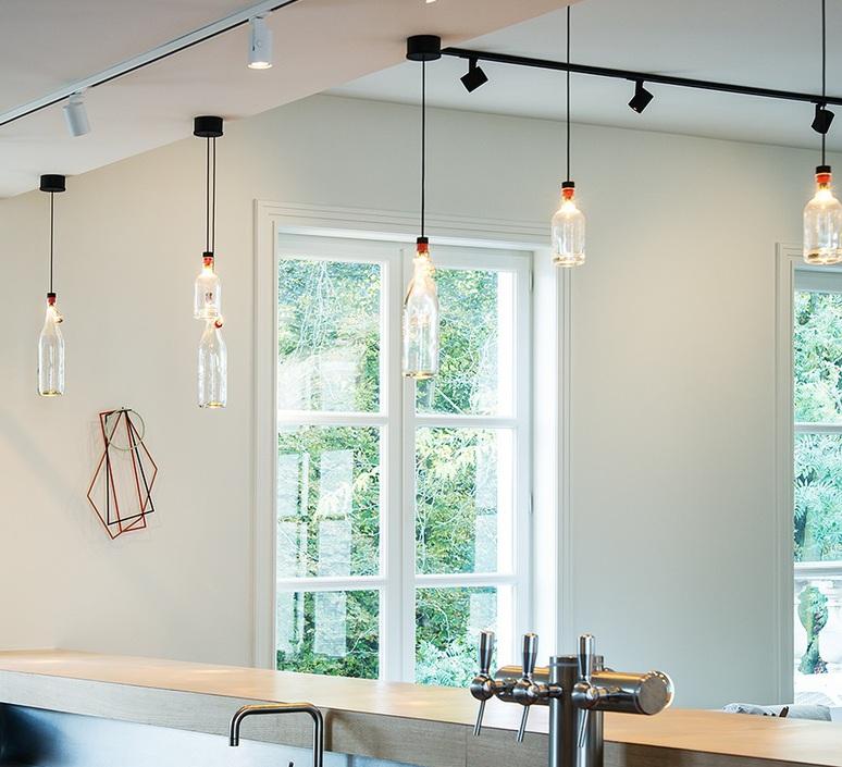 suspension cork transparent h32 3cm wever ducre. Black Bedroom Furniture Sets. Home Design Ideas
