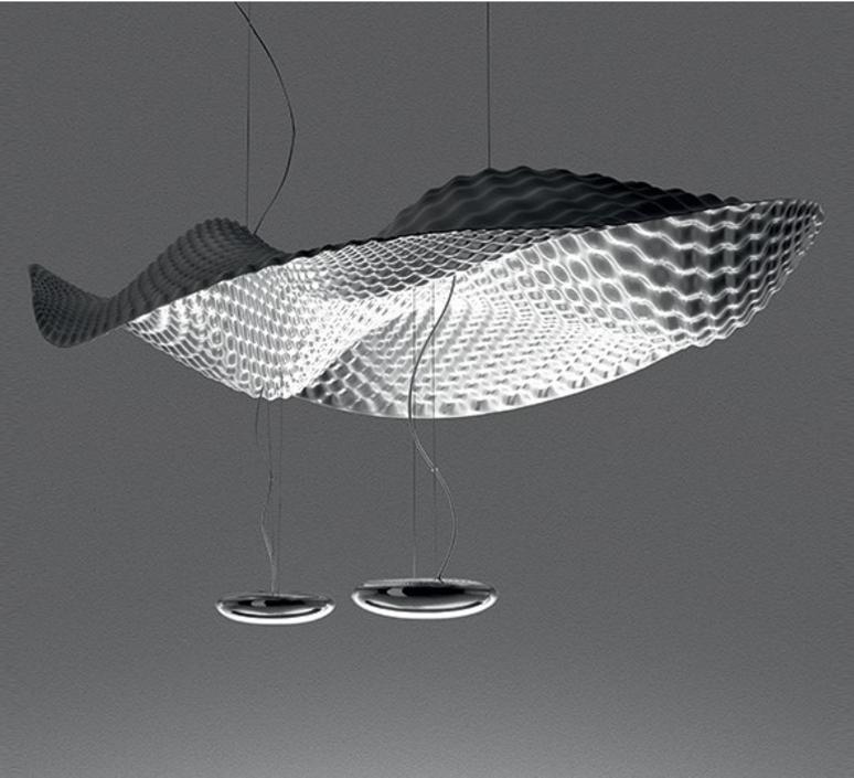 Cosmic  front design suspension pendant light  artemide 1513010a  design signed nedgis 79360 product