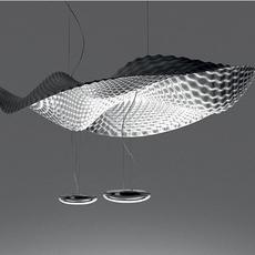 Cosmic  front design suspension pendant light  artemide 1513010a  design signed nedgis 79360 thumb