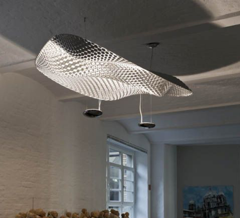 Cosmic  front design suspension pendant light  artemide 1513010a  design signed nedgis 79362 product