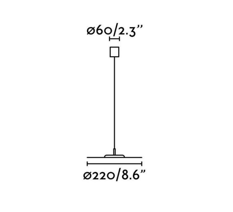 Cosmo manel llusca suspension pendant light  faro 64224  design signed 47521 product
