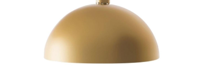 Suspension coupole or o45cm h24cm nemo lighting normal