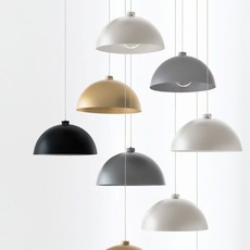 Coupole nemo studio suspension pendant light  nemo lighting alb egg 53  design signed nedgis 69331 thumb