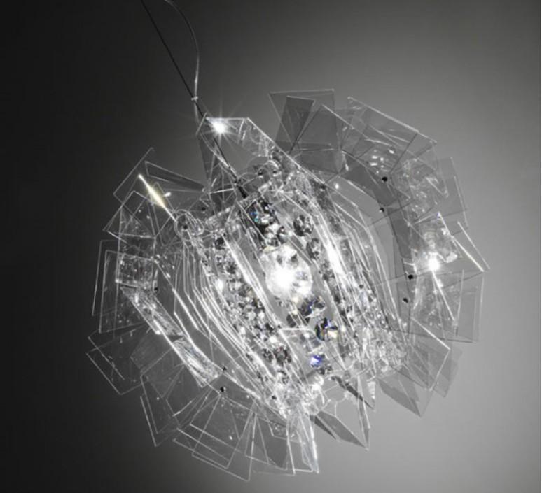 Crazy diamond luca mazza slamp crz77sos0000tt luminaire lighting design signed 17253 product