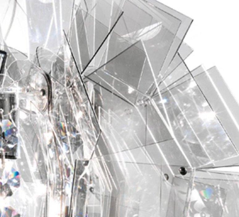 Crazy diamond luca mazza slamp crz77sos0000tt luminaire lighting design signed 17254 product