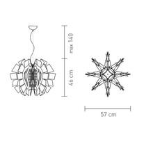 Crazy diamond luca mazza slamp crz77sos0000tt luminaire lighting design signed 17255 thumb