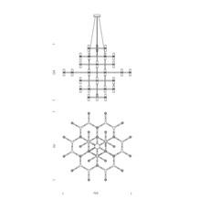 Crown magnum jehs laub suspension pendant light  nemo lighting cro hlw 5a  design signed 58574 thumb