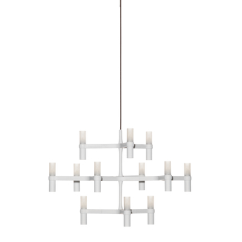 Suspension crown minor blanc l77cm h50cm nemo lighting normal