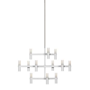 Suspension crown minor blanc l77cm h50cm nemo lighting normal