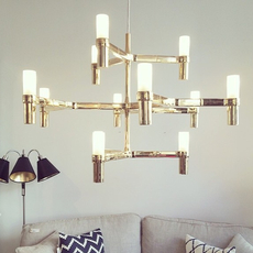Crown minor jehs laub suspension pendant light  nemo lighting cro how 51  design signed 83408 thumb