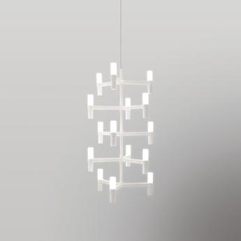 Suspension crown multi blanc l41cm h87cm nemo lighting normal
