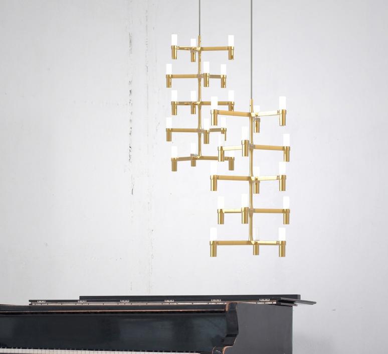 Crown multi jehs laub suspension pendant light  nemo lighting cro hgw 58  design signed 58638 product