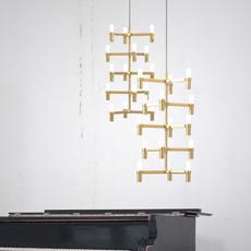 Crown multi jehs laub suspension pendant light  nemo lighting cro hgw 58  design signed 58638 thumb