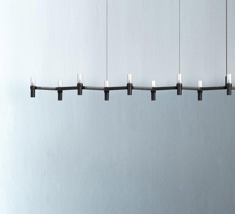 Crown plana linea jehs laub suspension pendant light  nemo lighting cro hnw 54  design signed 58651 product