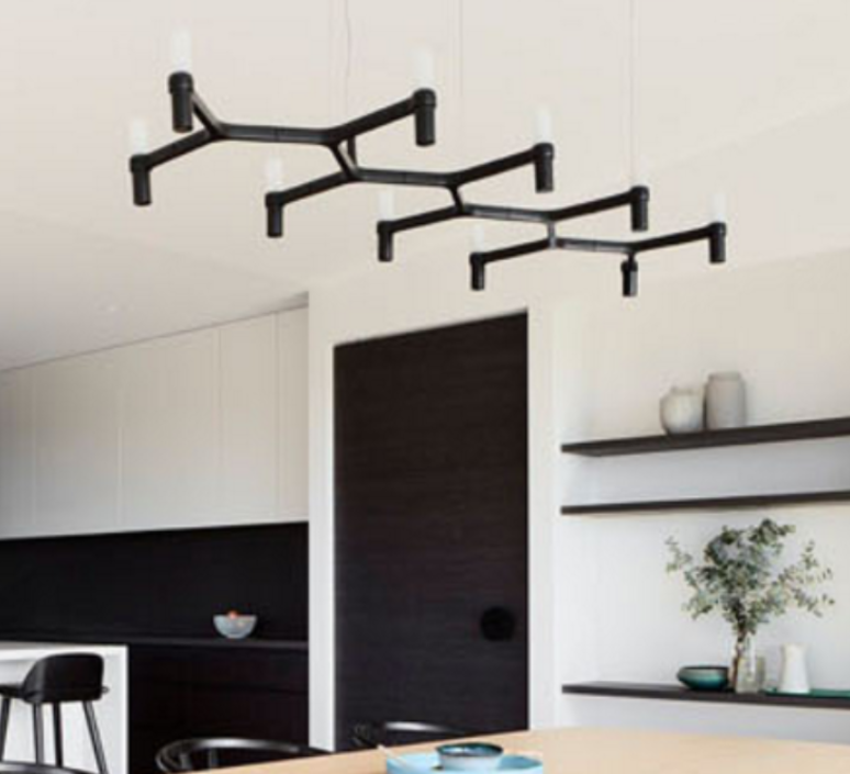Crown plana linea jehs laub suspension pendant light  nemo lighting cro hnw 54  design signed 59150 product