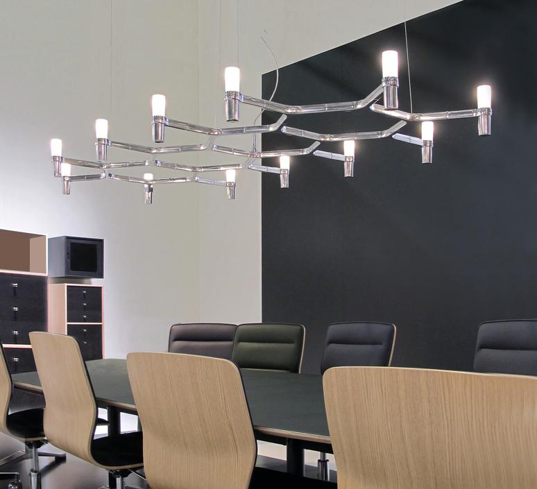 Crown plana major jehs laub suspension pendant light  nemo lighting cro hlw 53  design signed 58665 product