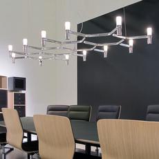 Crown plana major jehs laub suspension pendant light  nemo lighting cro hlw 53  design signed 58665 thumb