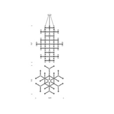Crown summa jehs laub suspension pendant light  nemo lighting cro hlw 59  design signed 58692 thumb