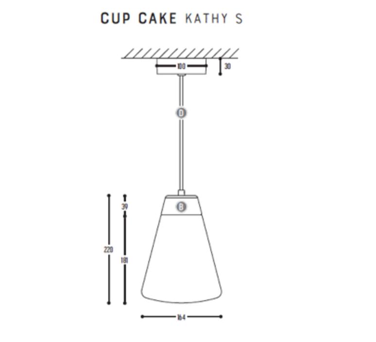 Cup cake kathy s susanne uerlings suspension pendant light  dark 1067 02 804002 01  design signed nedgis 68179 product