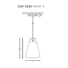 Cup cake kathy s susanne uerlings suspension pendant light  dark 1067 02 804002 01  design signed nedgis 68179 thumb