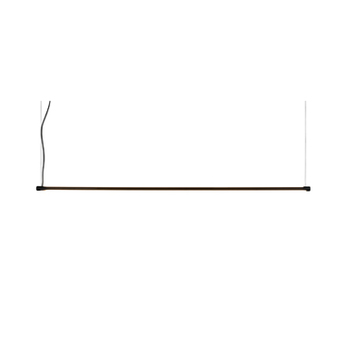 Suspension cupido noir mat led 3000k 3320lm l99cm h220cm karman normal